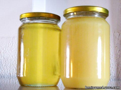 физични свойства на меда