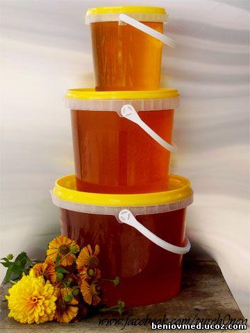 пчелен мед в кофи от 5кг, 3кг и 1 кг