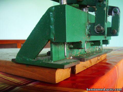 машина за пробиване на рамки